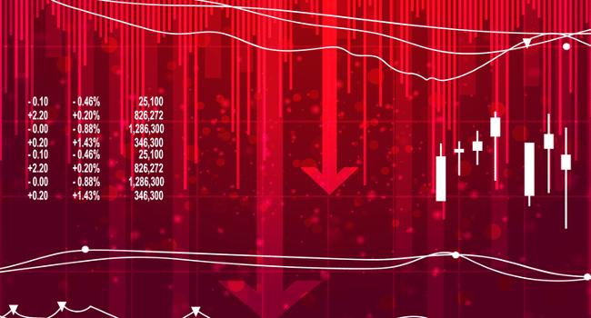 nuovo crollo dei mercati finanziari