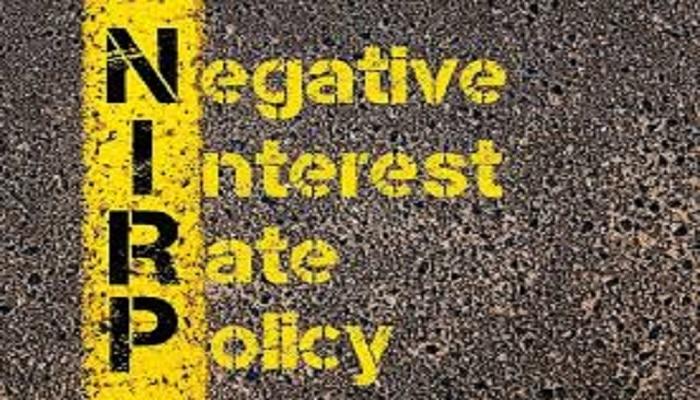 tassi negativi
